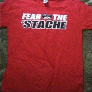 Other - Fear the stache tee